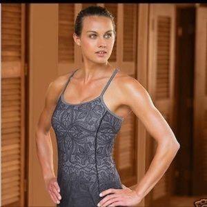 Athleta Harmonious Lace Print Strappy Cami Tank